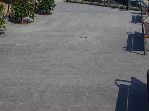 Guarderia con Pavimento Impreso
