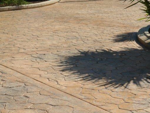 Pavimento Piedra Irregular