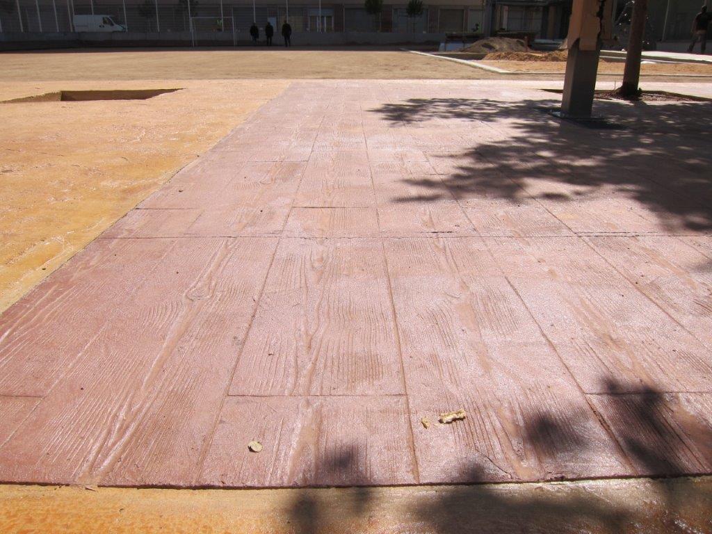 pavimento impreso madera pavisa pavimentos industriales